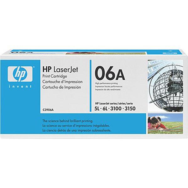 Заправка картриджа HP C3906A для HP LaserJet 5L, 6L, 3100, 3150