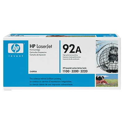 Заправка картриджа HP C4092A для HP LJ 1100
