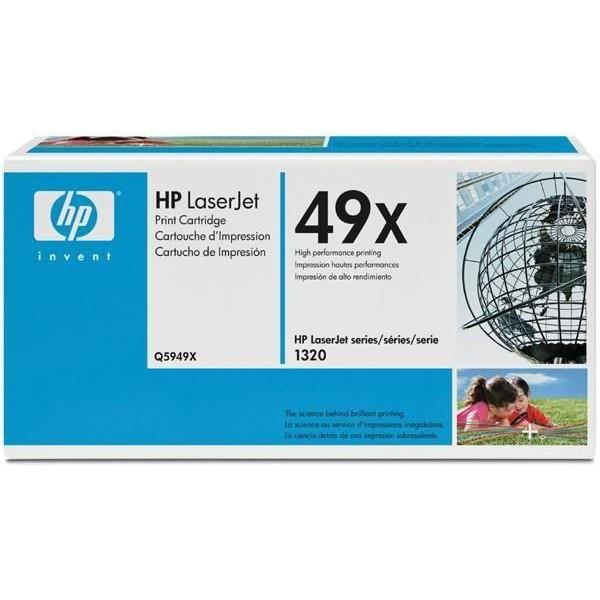 Заправка картриджа HP Q5949X для HP LJ - 1320/3392