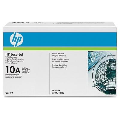 Заправка картриджа HP Q2610A для HP LJ - 2300/D/N/DN/DTN/L