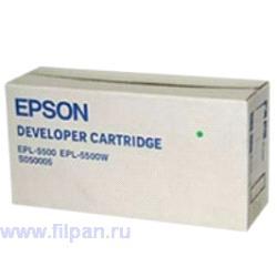 Картридж Epson EPL-5500 черный
