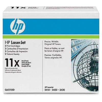 Заправка картриджа HP Q6511X для HP LJ - 2410/2420/2430