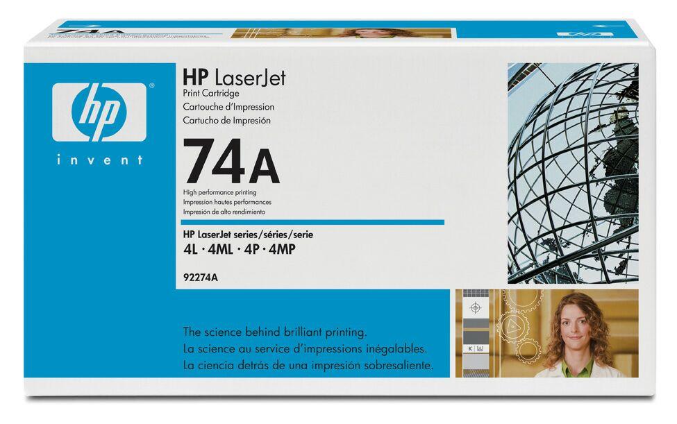 Заправка картриджа HP 92274A для LaserJet 4L/4ML/4P/4MP