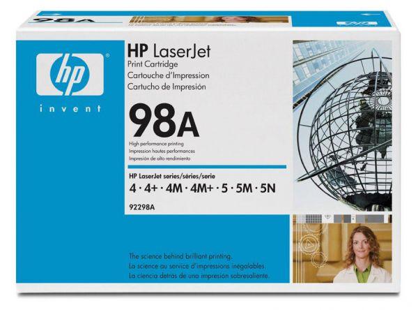 Заправка картриджа HP 92298A /Х для LaserJet 4/4 /4M /5/5M