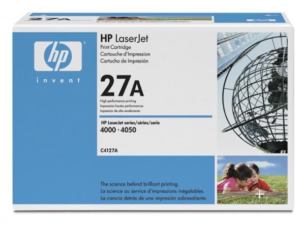 Заправка картриджа HP C4127A /X для LaserJet 4000/4050
