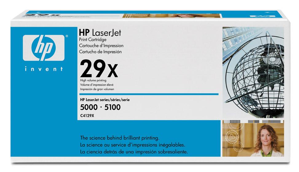 Заправка картриджа HP C4129A/X ( Заправка картриджа HP 5000/5000N/5000GN/5100 )