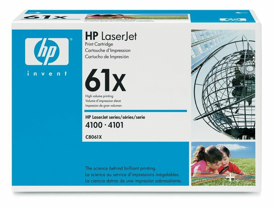 Заправка картриджа HP C8061X  для LaserJet 4100