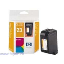 Заправка картриджа HP  C1823D (Заправка  струйного картриджа HP 1823  )