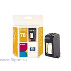 Заправка картриджа HP C6578A (Заправка  струйного картриджа HP 6578 )