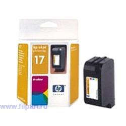 Заправка картриджа HP C6625A (Заправка  струйного картриджа  HP 6625)