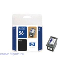 Заправка картриджа HP C6656A