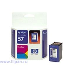 Заправка картриджа HP C6657A (Заправка  струйного картриджа  HP 6657 )