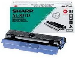 Заправка картриджа Sharp AL-80TD