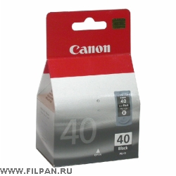 Заправка картриджа Canon  PG-40