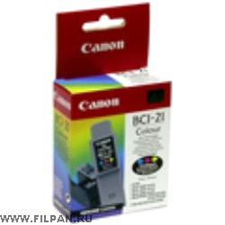 Заправка картриджа Canon  BC -21с