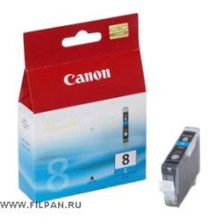 Заправка картриджа Canon  CLI -8C