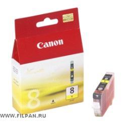 Заправка картриджа Canon  CLI -8Y