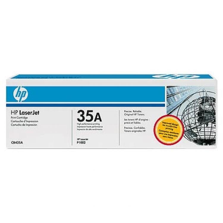 Заправка картриджа CB435A для HP LJ P1005 P1006