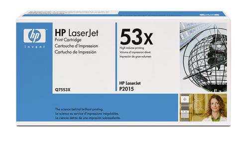 Заправка картриджа HP Q7553X для HP Р2015