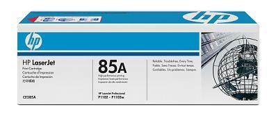 Заправка картриджа HP CE285A для принтера  HP  P1102/P1102W/M1212NF