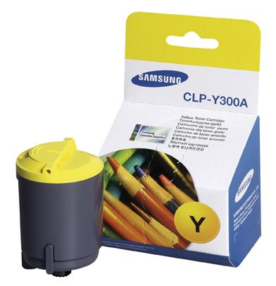 Заправка картриджа Samsung  CLP-Y300A  для Samsung CLP 300, 300N, CLX 2160, 2160N, 3160N, 3160FN