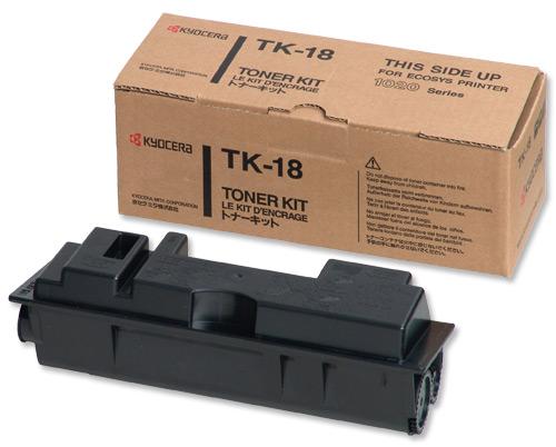 Заправка картриджа Kyocera TK 18