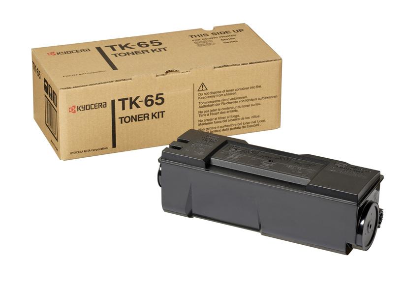 Заправка картриджа Kyocera TK 65