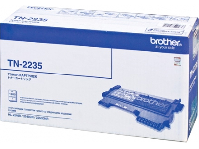 Картридж  Brother  TN-2235 для Brother HL-2240R/ 2240DR/ 2250DNR/ DCP-7060DR/ 7065DNR/ MFC-7360NR/ 7860DWR