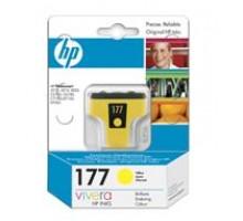 HP C8773HE (№177) Картридж желтый