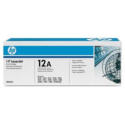 Заправка картриджа HP Q2612A (12A)