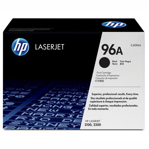 Заправка картриджа HP C4096A для HP LJ - 2100/2100M/2100TN/2200D/2200DT/2200DN/2200DTN