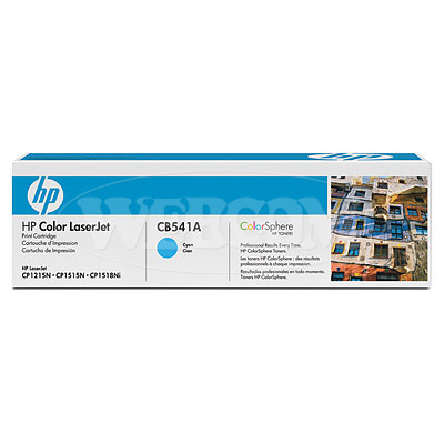 Заправка картриджа HP CB541A для принтеров HP Color LaserJet CM1312/CM1312nfi, HP Color LaserJet CP1215/CP1515n