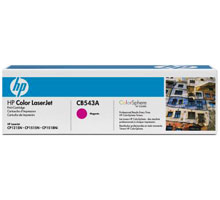 Заправка картриджа HP CB543A для принтеров HP Color LaserJet CM1312/CM1312nfi, HP Color LaserJet CP1215/CP1515n
