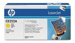 Заправка картриджа HP CE252A  для принтеров HP CLJ CP3525, CM3530