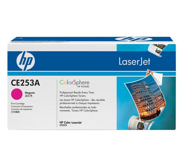 Заправка картриджа HP CE253A  для принтеров HP CLJ CP3525, CM3530