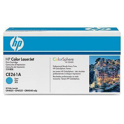 Заправка картриджа HP CE261A   для принтеров HP CLJ CP4025 / CP4525