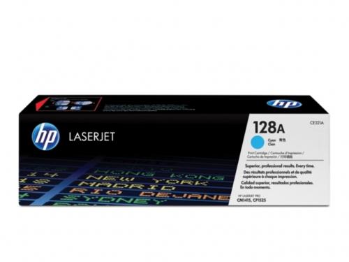 Заправка картриджа HP CE321A (128A) для принтеров HP LaserJet Pro CM1415/Pro CP1525