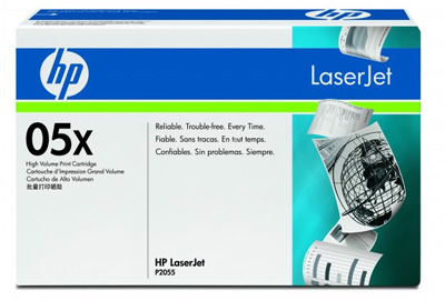 Заправка картриджа HP CE505X для P2055/P2055d и P2055dn