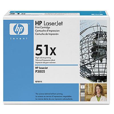 Заправка картриджа HP Q7551X для LaserJet P3005/M3027 mfp/M3035 mfp