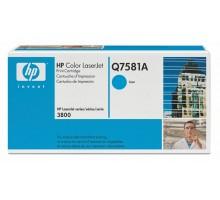 Заправка картриджа HP Q7581A для Color LaseJet 3800/CP3505