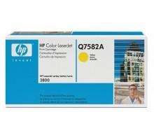 Заправка картриджа HP Q7582A для Color LaseJet 3800/CP3505