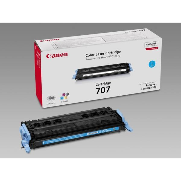 Заправка картриджа Canon 707C для i-SENSYS LBP5000/5100
