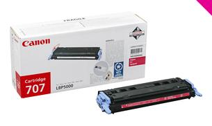 Заправка картриджа Canon 707M для i-SENSYS LBP5000/5100