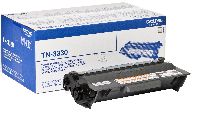 Заправка картриджа Brother TN-3330 для HL-5440d/5450dn/5470dw/6180dw