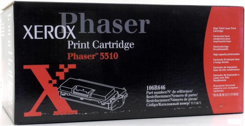 Заправка картриджа Хeroх- Phaser 3310 Картридж 106R00646