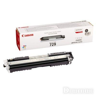 Заправка картриджа Canon 729Bk для i-SENSYS LBP-7010/7018