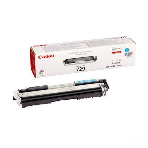 Заправка картриджа Canon 729C для i-SENSYS LBP-7010/7018