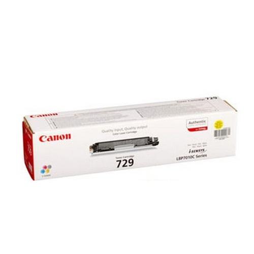 Заправка картриджа Canon 729Y для i-SENSYS LBP-7010/7018