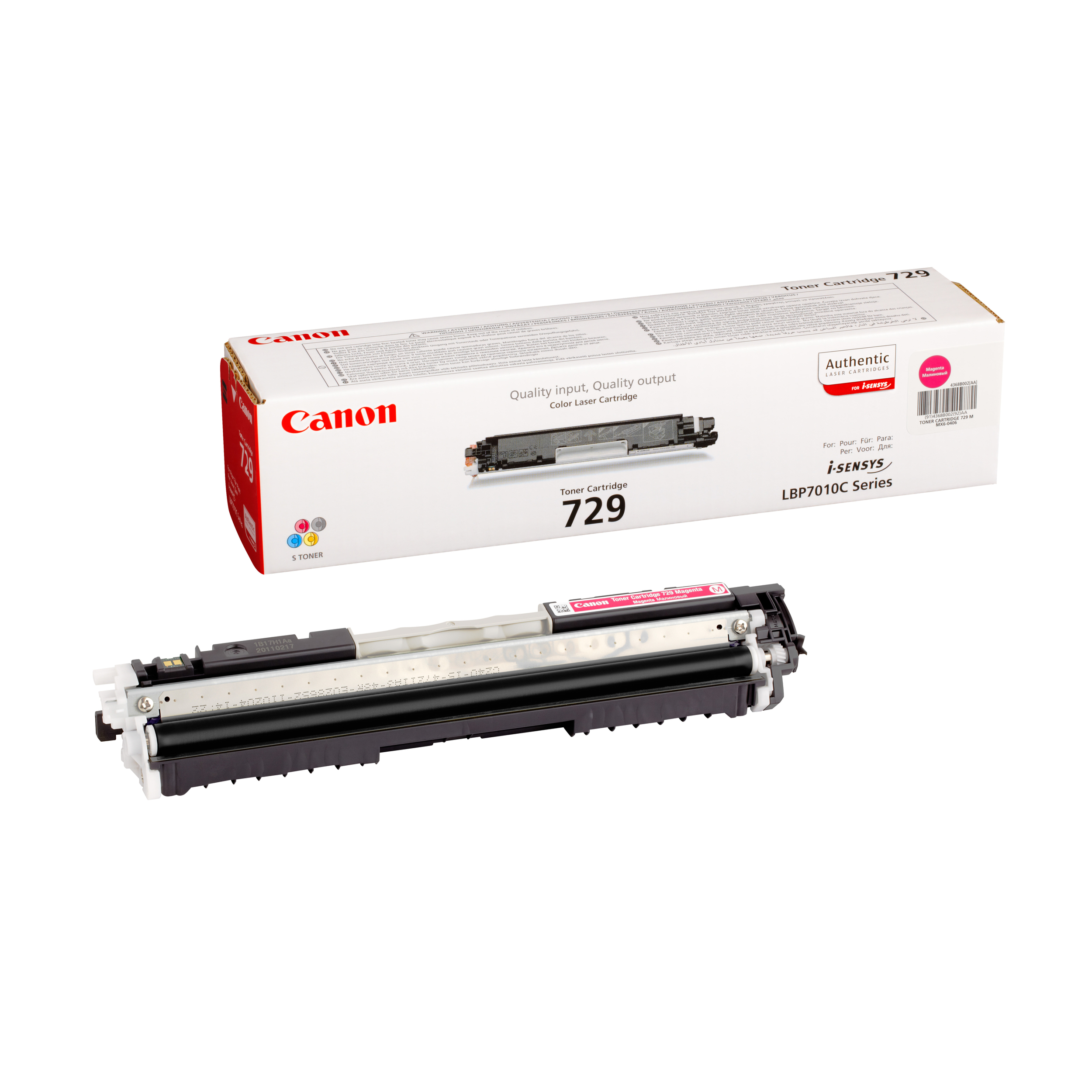 Заправка картриджа Canon 729M для i-SENSYS LBP-7010/7018