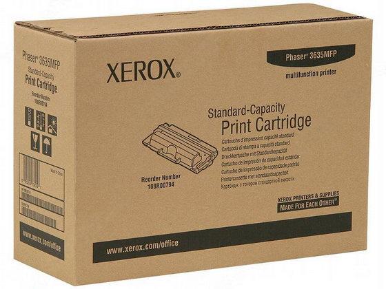 Заправка картриджа XEROX 108R00794 для Phaser 3635